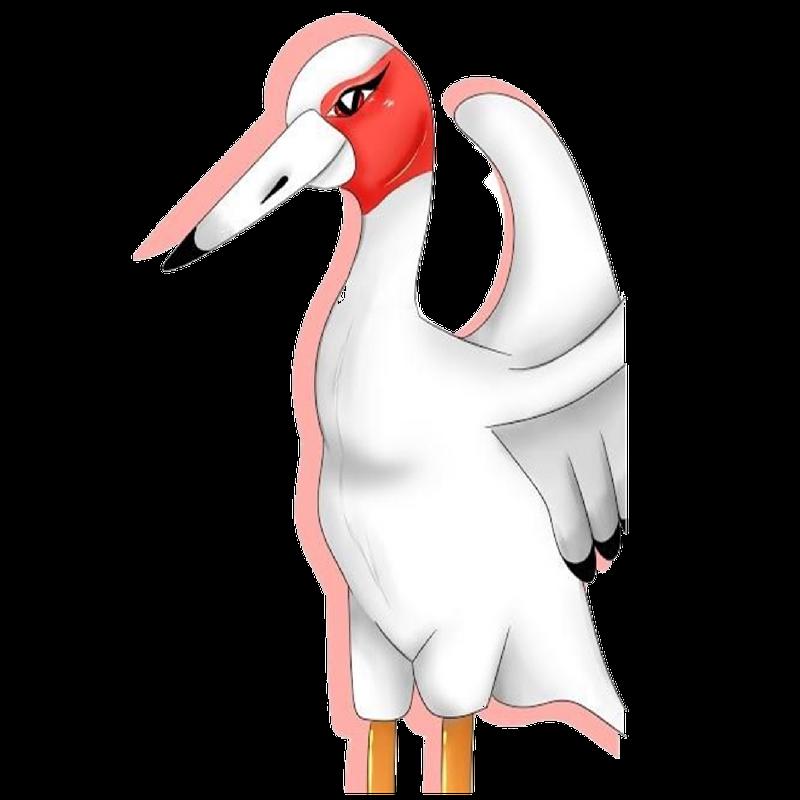 Ruby the Sarus Crane